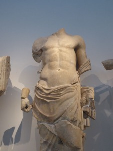 Nine Deadly headless Greek