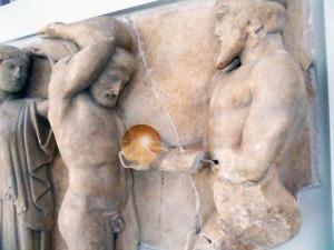 Hercules and Atlas Golden Apples