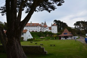 First View of Caldey Monastery