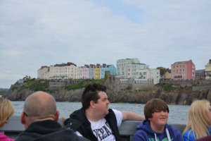 Leaving Tenby