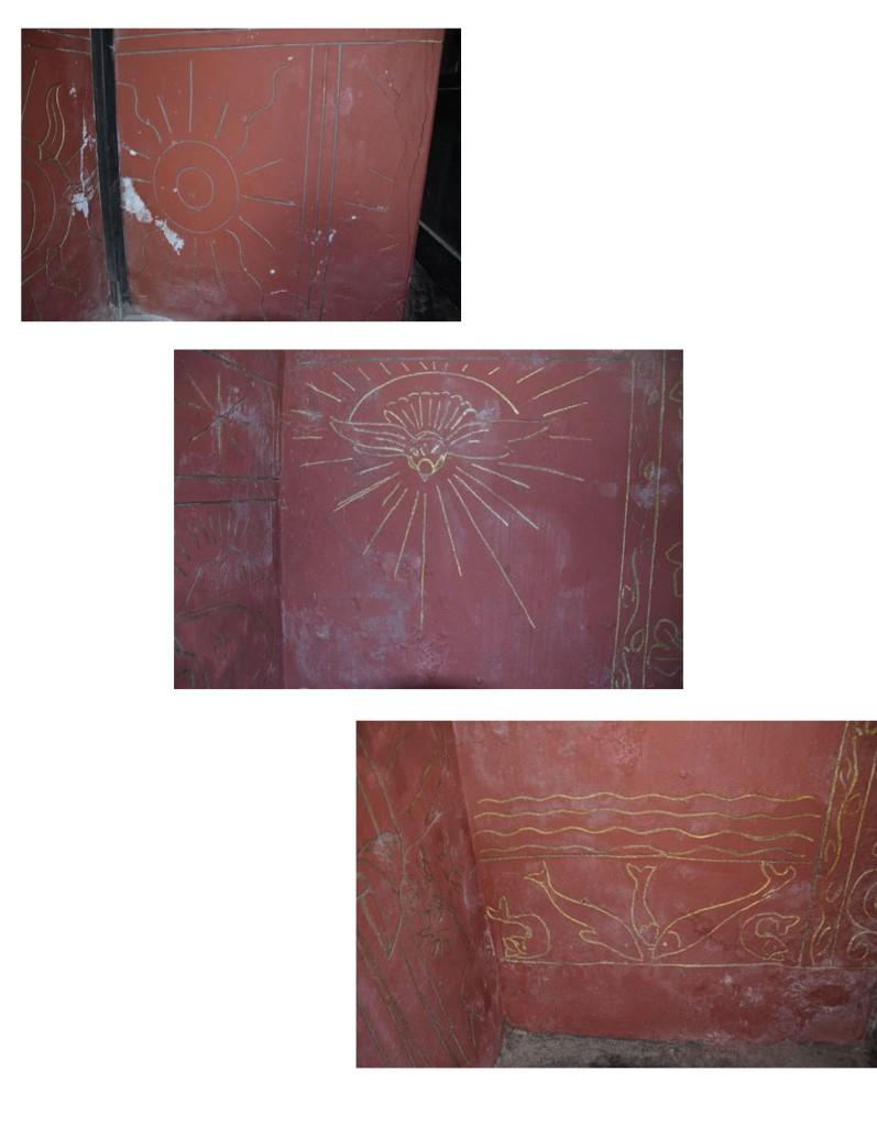 Caldey etchings montage