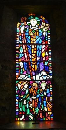 St Illtud's window 1-AA