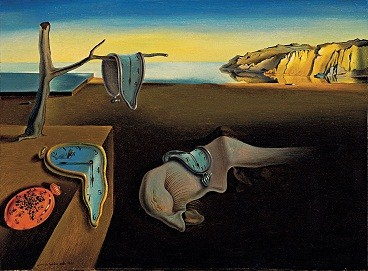 The Persistence of Memory by Salvador Dali (1931)