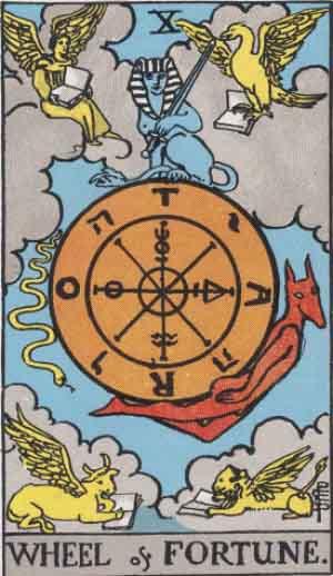 RWS_Tarot_10_Wheel_of_Fortune