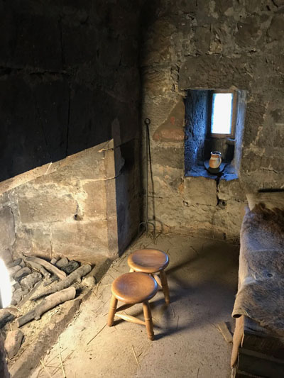 Castles 25Jul Pele Tower interior1 X